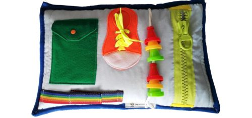 deep sleep activity sensory lap pad.