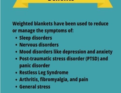 What Weighted Blankets can help with