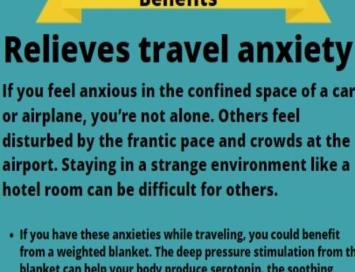 Relieves travel anxiety